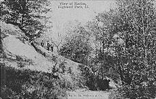 RAVINE IN HIGHLAND PARK, 1912